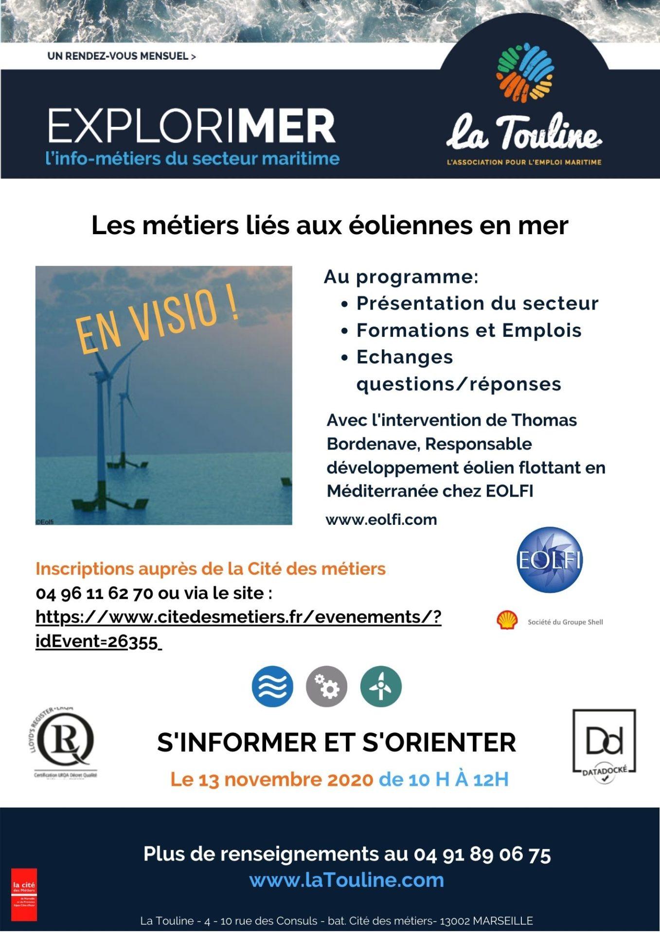 info-métiers EOLFI